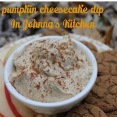 Pumpkin Cheesecake Dip   In Johnna's Kitchen