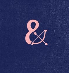 #Bow & #Arrow #Ampersand #Tattoo #idea almost looks like breast cancer awareness