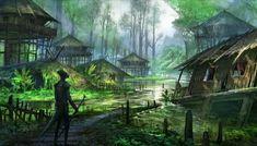 Concept work I did for The Elder Scrolls Online. The Elder Scrolls, Elder Scrolls Online, Art Village, Fantasy Art Landscapes, Fantasy Landscape, Environment Concept Art, Environment Design, Pirate Art, Game Concept Art