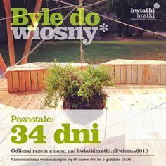 Byle do wiosny - #countdown - 34 dni #stringgarden