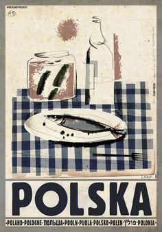 Traditional Polish Vodka, Polish Poster