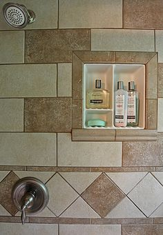 Image Detail For Bathroom Shampoo Soap Shelf Dish Shower Niche Recessed Tile Ceramic