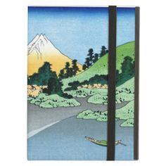 Cool oriental japanese Hokusai Fuji View landscape iPad Case
