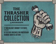 "Echa un vistazo a mi proyecto @Behance: ""The Thrasher Collection"" https://www.behance.net/gallery/58079819/The-Thrasher-Collection"