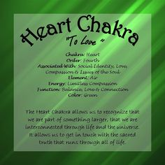 Introducing: the Heart Chakra
