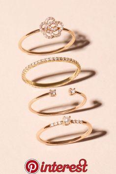 Damen Modeschmuck Ring Ringe Set 10 Stück Vintage Boho Antik look Festival NEU