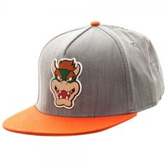 Nintendo - Bowser Rubber Sonic Weld Snapback