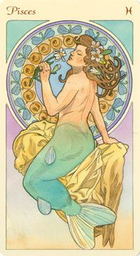 Pisces:  #Pisces as Mermaid.