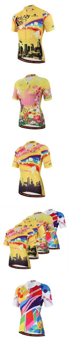 2016 Free Shipping Womens Cycling Jersey Shirts Ropa Ciclismo Cycle Clothes Bike Jerseys TopsBicycle Sportswear Cycling Clothing