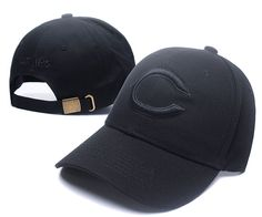 c9e74250623 Men s   Women s Chicago Bears Black Tonal Team Logo Adjustable Hat - Black
