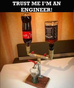 How engineers make Jack&Coke