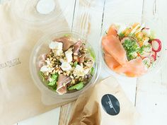Yourlittleblackbook came by and took a beautiful shot of our delicious salads!
