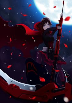 Ruby from RWBY with her Scythe