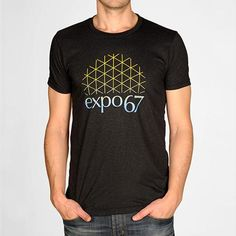 Expo 67 Tee - Main and Local Expo 67, City Branding, Of Montreal, Tees, Mens Tops, T Shirt, Collection, Fashion, Supreme T Shirt