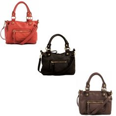 Linea Pelle cross-body bags — practical and pretty. #handbag #bagoftheday
