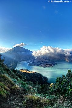 Mount Rinjani, Indonesia   repinned by the-glitter-side.blogspot.com www.facebook.com/TheGlitterSide