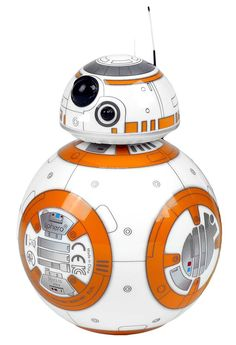 BB-8, the adorable Droid™ from Star Wars, is an app-enabled interactive toy that recognizes and responds to your voice while moving around and even displaying virtual holographic videos. Simply put, this is the Droid you're looking for, available from Hammacher Schlemmer.