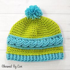 FREE PATTERN...Charmed_by_ewe_uptown_cable_beanie_-_2_small2