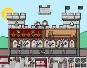 juego construir castillo medieval
