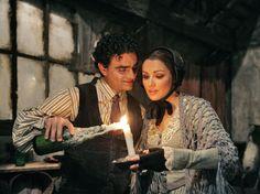 'La Bohème' Rolando Villazón as Rodolfo, Anna Netrebko as Mimì