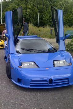 Bugatti EB110 Supersport....back when Bugatti made innovative cars, not just slap more turbos on! lol