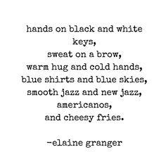 Elaine Granger poetry