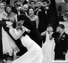 Wedding photo idea- love the flower girl and ring bearer's reaction