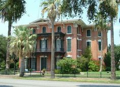 On January 7, 1859, James Moreau Brown bought the future site of Ashton Villa in Galveston. Its 13-inch thick brick walls withstood the 1900 Galveston hurricane. In 1968, the Galveston Historical Foundation led efforts to buy and restore the showplace.