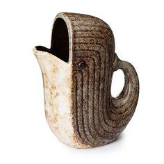 Ceramic Whale Pitcher
