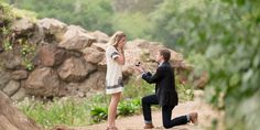 """No matter how private or public, a proposal is a magical moment you will remember forever! Good thing there are infinite ways to customize a proposal perfectly to you and your partner's styles. Here are 20 romantic proposal ideas that are sure to win a """"yes"""": http://qoo.ly/fzwmp"""