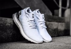 c2d537868 Ronnie Fieg adidas Ultra Boost Mid White Silver - Sneaker Bar Detroit Adidas  Boots