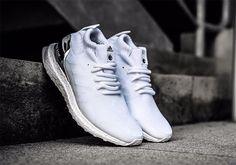 Ronnie Fieg adidas Ultra Boost Mid White Silver - Sneaker Bar Detroit Adidas  Boots dfd4be4d6