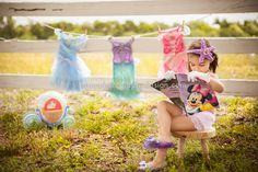 Disney princess photography session