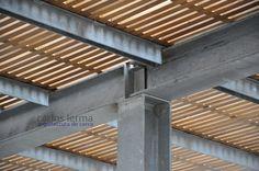 Encuentro pilar-viga metálicos – Arquitectura De Cerca