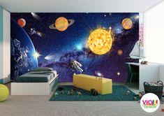 Fototapet Copii Univers Cosmic - VIODesign Cosmic, Pixar, Walt Disney, Disneyland, Mickey Mouse, Studio, Art, Universe, Photo Wallpaper