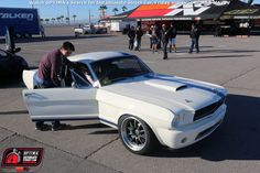 Matt Alcala's 1965 Ford Mustang received a golden ticket invitation to the 2015 #OUSCI at the #SEMAshow Learn more at www.optimainvitational.com