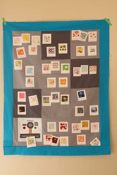 Party of Eight: Our Story: WIP Wednesday- Polaroid Party Quilt
