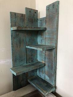 Wooden Corner Shelf, Corner Shelves, 1x4 Wood, Bookcase, Home Decor, Decoration Home, Room Decor, Book Shelves, Home Interior Design