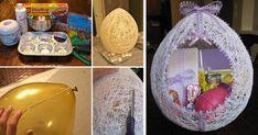 DIY nápad a návod krok za krokom na veľkonočné vajce z vlny. Krásna veľkonočná dekorácia, ozdoba na Veľkú Noc, vlnené veľkonočné vajíčko, handmade, vlna