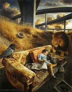 Aslan and reading