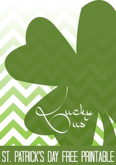 St. Patricks Day Printable at the36thavenue.com