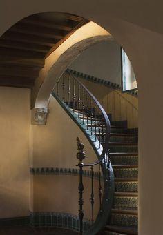 Casa del Herrero - House of the Blacksmith. George Fox Steedman's estate. Montecito, California.  George Washington Smith, arch. Montecito, Calif. 1925.