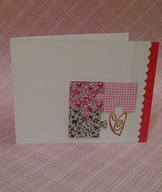 """Simple Valentines card idea! (open, to find a piece of puzzle, that says: You complete me."""""""