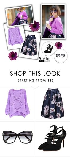 """""""SheIn 2/VIII"""" by nermina-okanovic ❤ liked on Polyvore featuring Tom Ford and shein"""