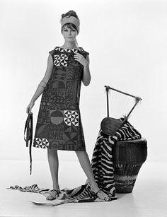 """Katja of Sweden, """"African Line"""", 1963. Foto: Georg Oddner/Malmö Museer"""