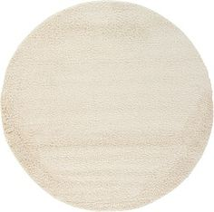 All Rounds Beige & Ivory Rugs | iRugs UK