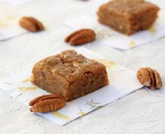 Sweet Potato Blondies - ridiculously good! Very sweet, I added white chocolate chips