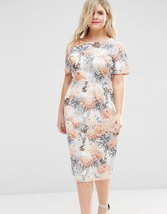 68667fead3f Get this Asos Curve s long dress now! Click for more details. Worldwide  shipping.