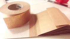 Krafttape Binding Die Deutsche Antwort auf alle Bindungen für ein Mini Book :-)