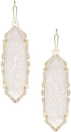 Kendra Scott Fran Drusy Drop Earrings